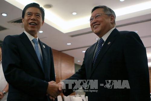中国与菲律宾同意将加快经贸合作项目进展 hinh anh 1