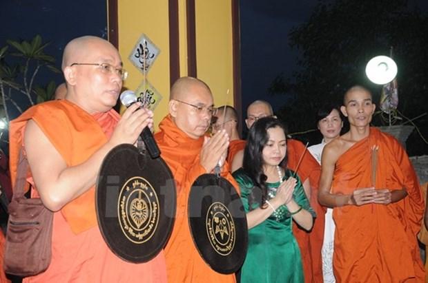 旅居缅甸越南人为越南英雄烈士们举行超度法会 hinh anh 1