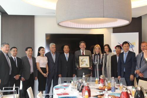 岘港市欢迎法国高新技术企业前来投资 hinh anh 1