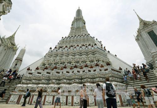 泰国旅游业力争实现2018年旅游收入达900亿多美元 hinh anh 1