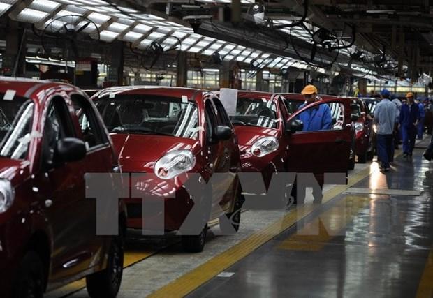 今年前8月越南汽车销量同比下降6% hinh anh 1