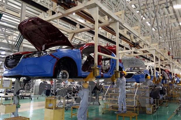 2017年8月份印尼成为越南最大的汽车供应市场 hinh anh 1