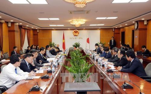 越南与日本深化工业、贸易和能源等领域的合作 hinh anh 1