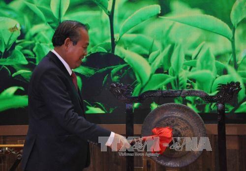 张和平副总理:越南对外政策中越中关系是头等优先 hinh anh 1