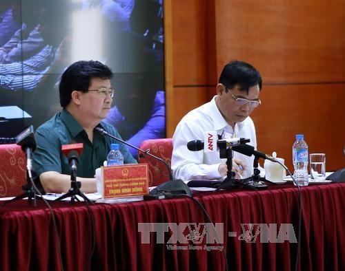 越南政府举行会议 指导防御台风工作 hinh anh 1