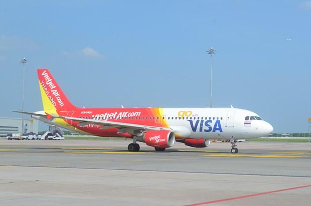 泰国越捷航空继续扩大国际航线网络 hinh anh 1