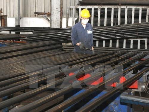 钢铁价格因其原料价格增加而呈上升之势 hinh anh 1