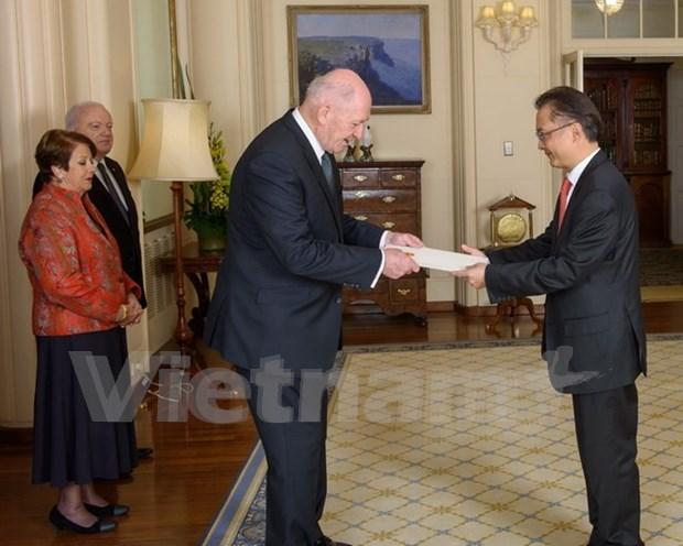 澳大利亚希望将越澳增强全面伙伴关系迈上新高度 hinh anh 1