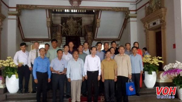 胡志明市领导会见老挝川圹省和公安部代表团 hinh anh 1
