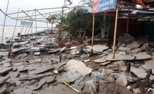 越南祖国阵线中央委员会发出紧急公函指导各省市开展第十号台风应急措施 hinh anh 1