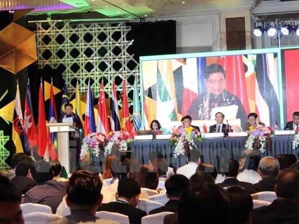第38届东盟议会联盟大会开幕 越南提出增强AIPA功能的作用 hinh anh 1