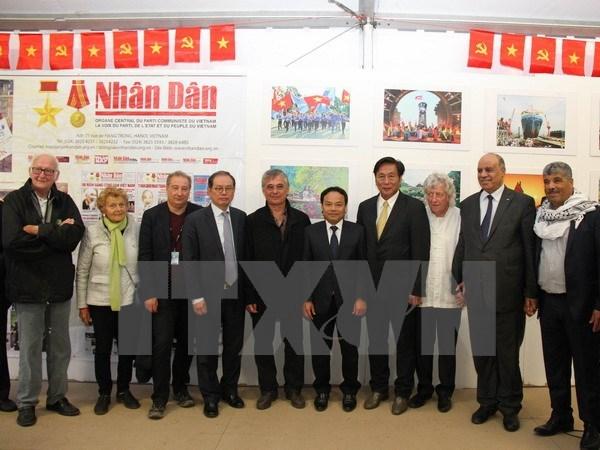 越南形象亮相法国《人道报》节 hinh anh 1