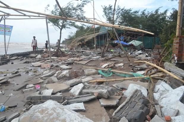 第十号台风造成9人死亡4人失踪 hinh anh 1