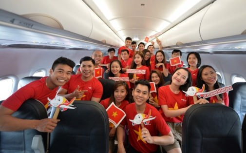 越捷航空公司出售胡志明市—金边航线的机票 hinh anh 2