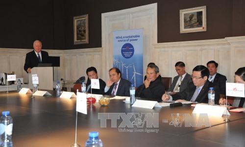 越南政府副总理王廷惠对比利时王国进行访问 hinh anh 1