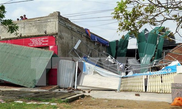 越南红十字会向灭区居民提供扶持 hinh anh 1
