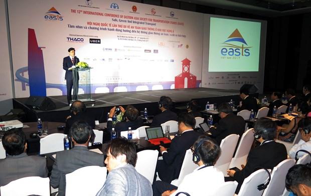 第十二届东亚交通研究学会国际会议在胡志明市开幕 hinh anh 2