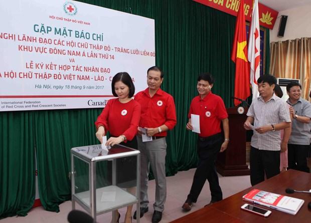 第14次东南亚地区红十字会与红新月会领导人会议将在河内召开 hinh anh 1