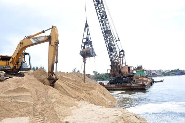越南在沙子出口中采取限制措施 hinh anh 1