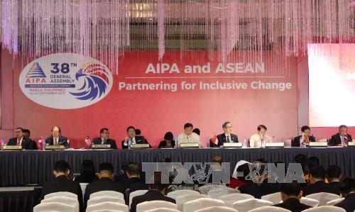 第38届东盟议会联盟大会:越南提出推进东盟经济共同包容性增长的建议 hinh anh 1