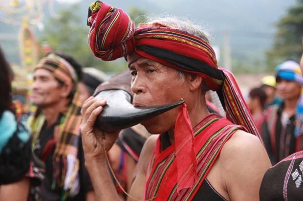 巴姑族的民间音乐艺术 hinh anh 2