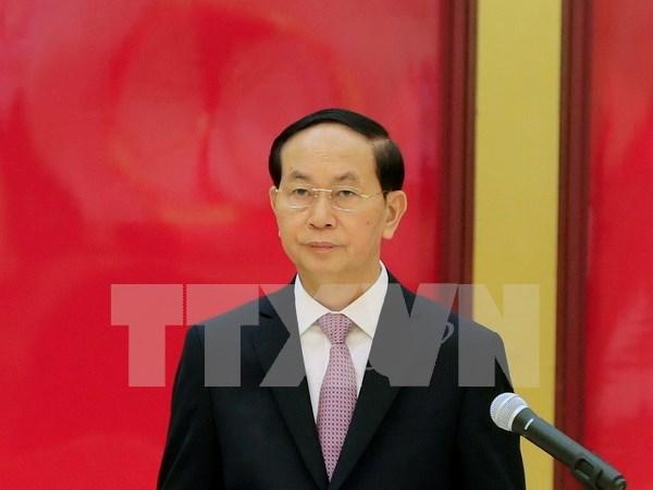 陈大光主席:越南是国际社会负责任的一员 hinh anh 1