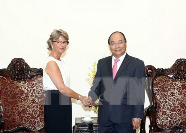 政府总理阮春福会见西班牙新任驻越大使帕洛普 hinh anh 1