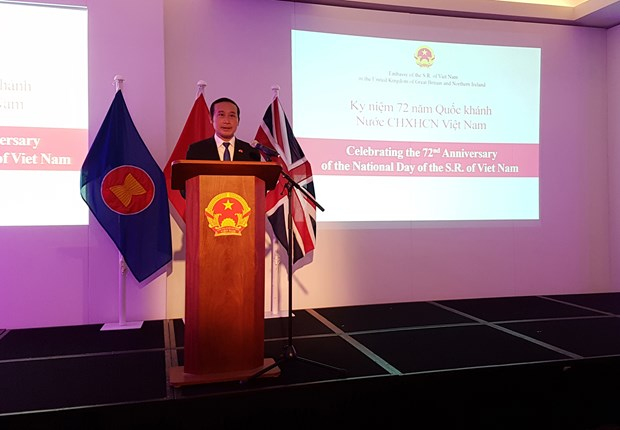 退欧之后英国加强与越南的贸易合作 hinh anh 1