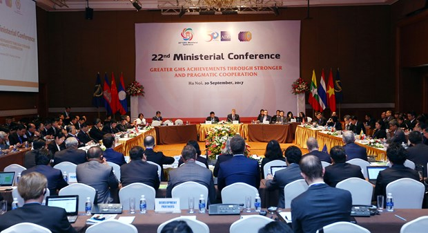 GMS经济合作第22次部长级会议:完善《河内计划》框架 hinh anh 1
