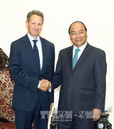 政府总理阮春福:越南特别重视和优先推动与美国的全面战略伙伴关系 hinh anh 1