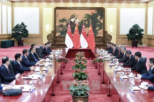 中国希望参与新加坡—马来西亚高铁项目 hinh anh 1