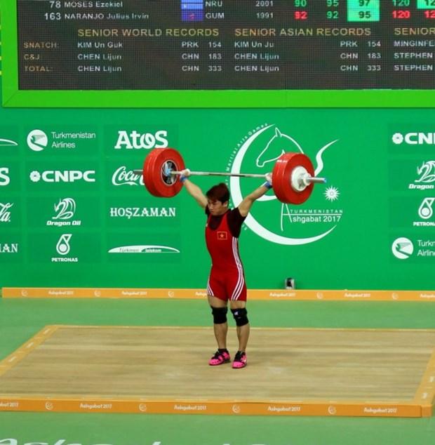第五届亚洲室内与武道运动会第二个比赛日:越南再添2金2银2铜 hinh anh 1
