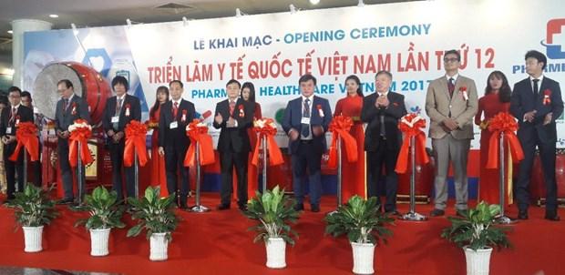 400多家企业参加2017年第12届越南国际医药、医疗器械展 hinh anh 1