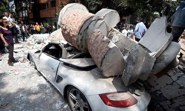 外交部发言人:尚无越南公民在墨地震伤亡报告 hinh anh 1