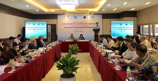 有关和平与人权的国际研讨会在河内举行 hinh anh 2