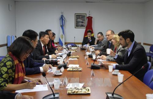 越南与阿根廷和巴拉圭加强议会间合作 hinh anh 1