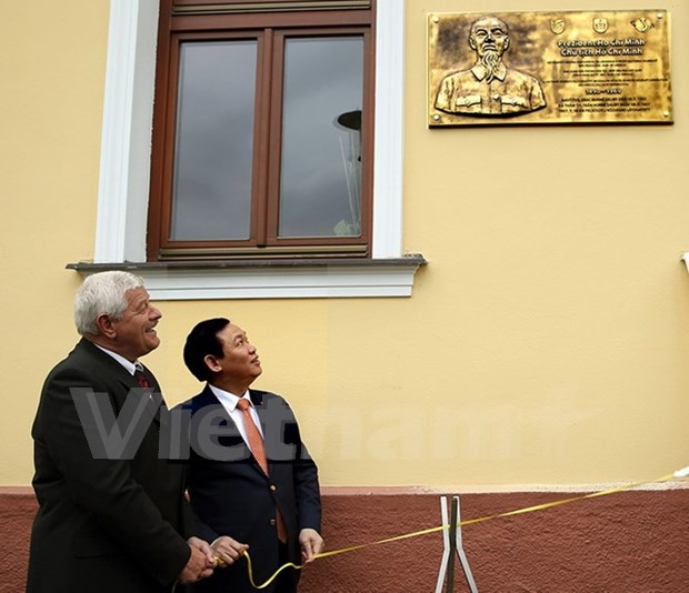 越南政府副总理王廷惠对斯洛伐克进行访问 hinh anh 1