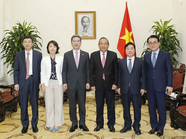 张和平副总理:希望韩国政府为越南公民办理赴韩签证创造便利 hinh anh 2