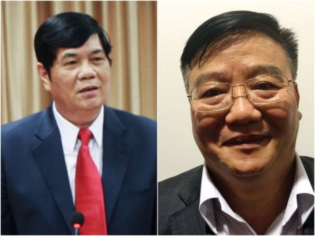 越共中央书记处对2名官员给予处分 hinh anh 1