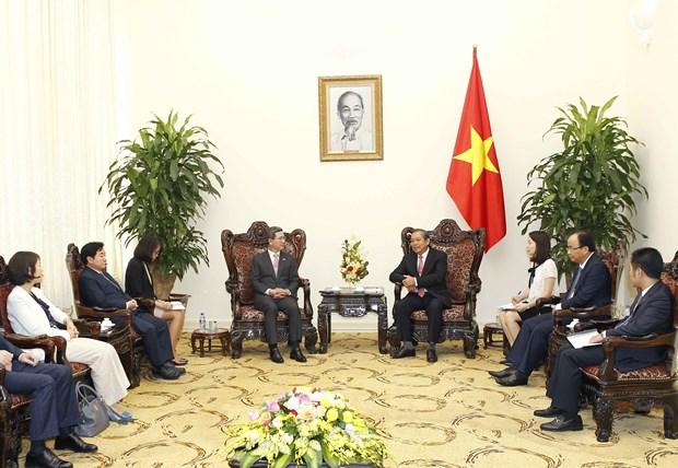 张和平副总理:希望韩国政府为越南公民办理赴韩签证创造便利 hinh anh 1