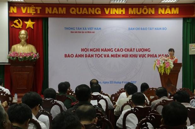 努力提高越南通讯社《民族与山区画报》的宣传报道质量 hinh anh 2