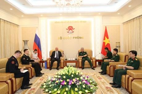 越南加强与俄罗斯和菲律宾的关系 hinh anh 1