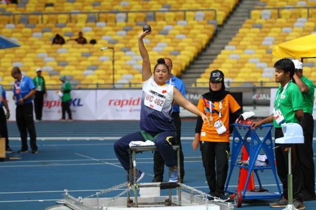 2017年东盟残运会:越南体育代表团获33金 hinh anh 1