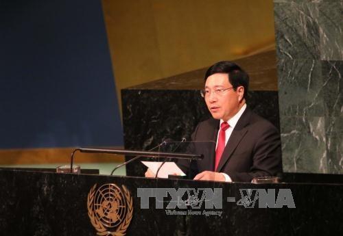 范平明出席第72届联合国大会一般性辩论 hinh anh 1