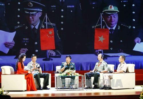 越中举行2017年第四次边境国防友好交流活动 hinh anh 2