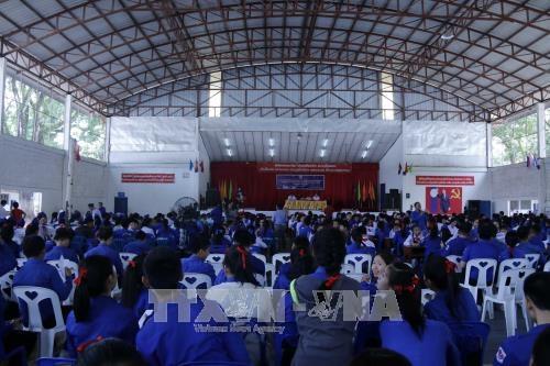 老挝重视加强年轻一代对越老关系的认识 hinh anh 1