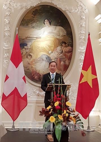 越南与瑞士合作关系呈现积极发展态势 hinh anh 1