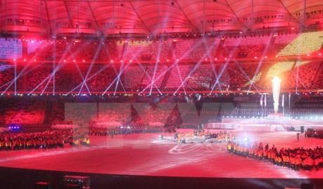 第九届东南亚残运会闭幕 越南体育代表团位居第四 hinh anh 1