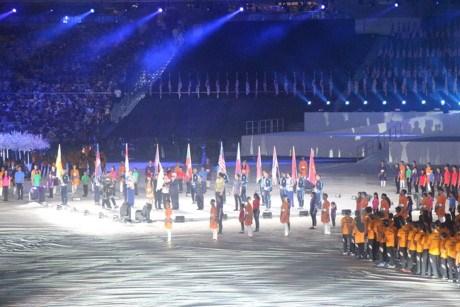第九届东南亚残运会闭幕 越南体育代表团位居第四 hinh anh 2