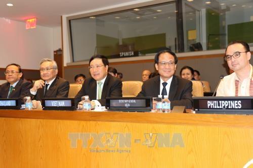 范平明在第72届联合国大会期间开展的系列活动 hinh anh 1